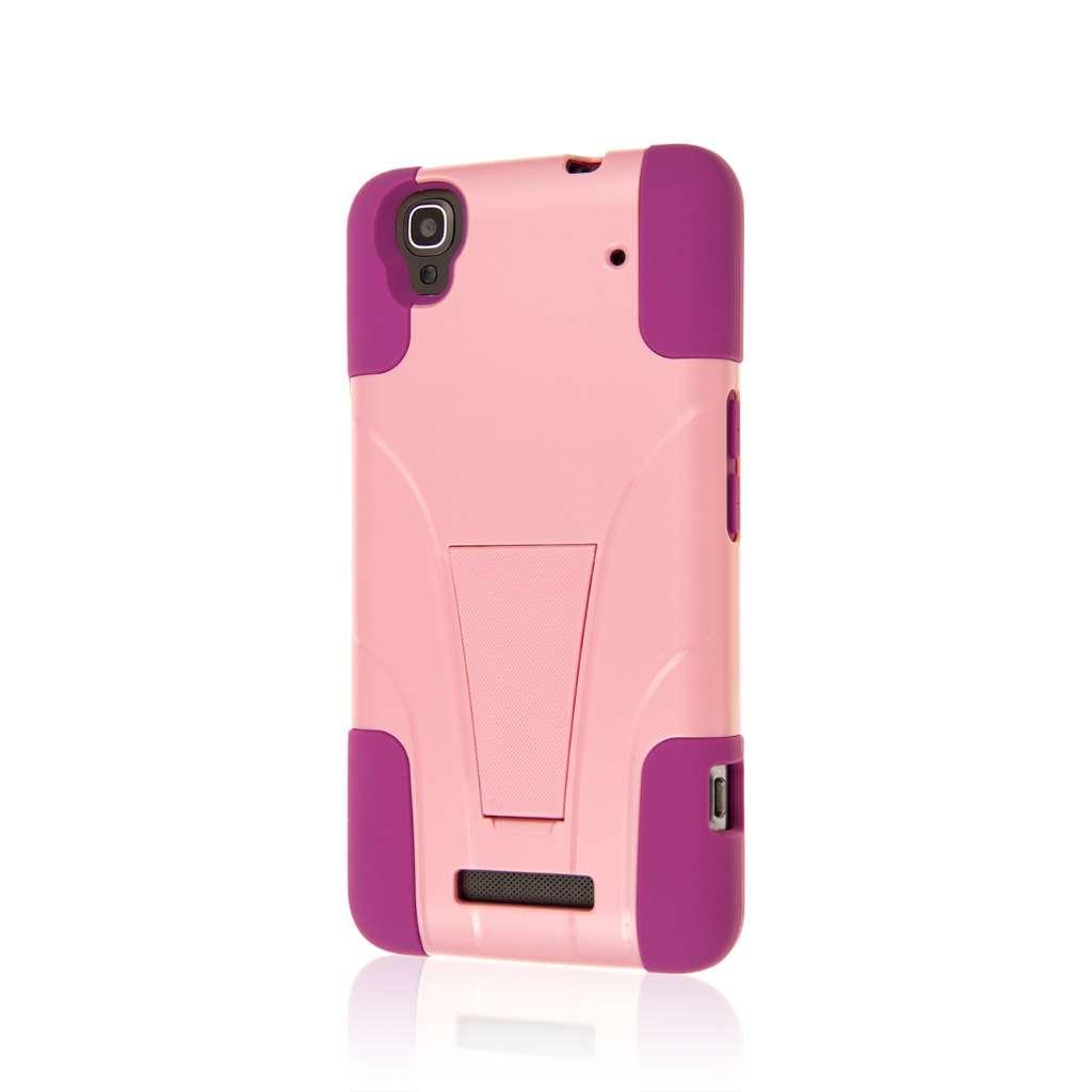 ZTE Max - Pink MPERO IMPACT X - Kickstand Case Cover