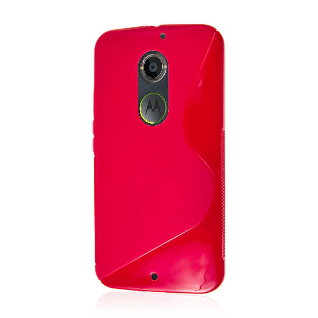 Motorola Moto X 2014 2nd Gen - Hot Pink MPERO FLEX S - Protective Case Cover