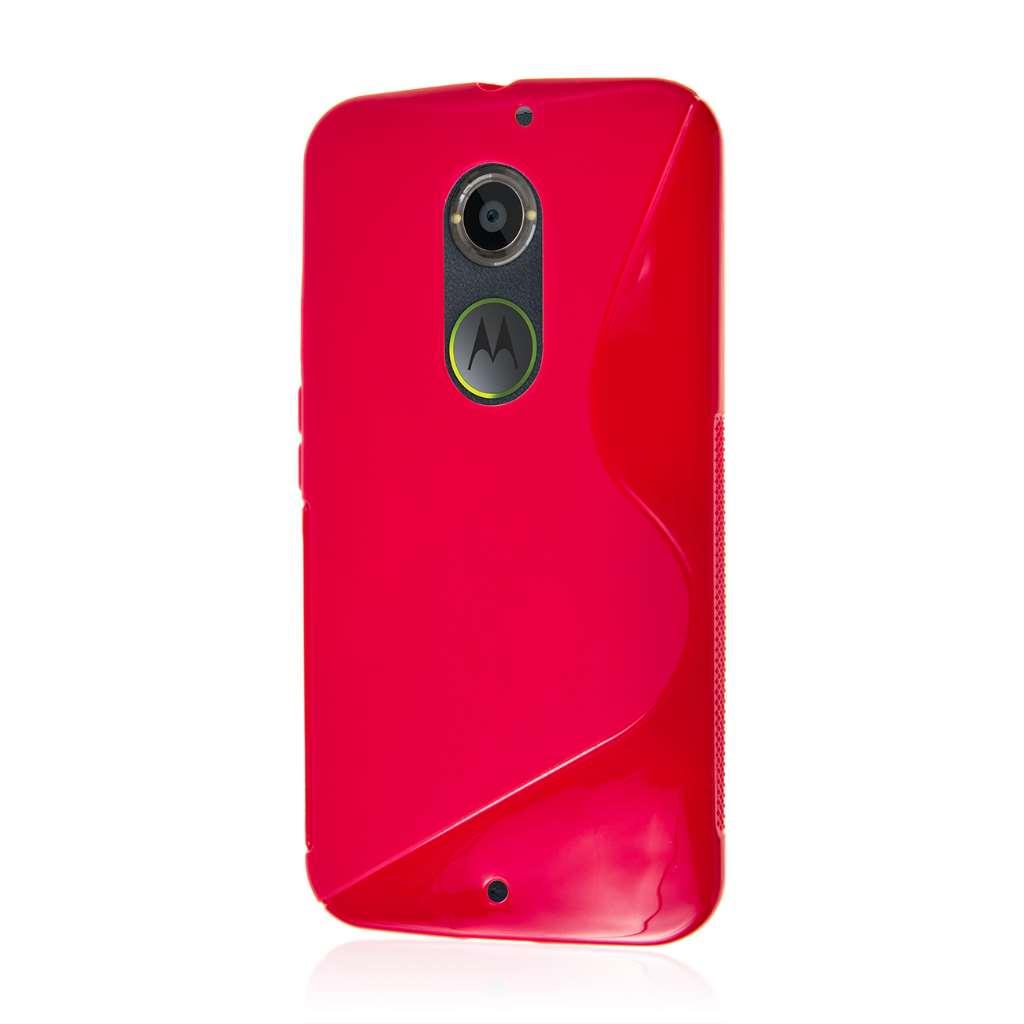 Motorola Moto X 2014 2nd Gen - Hot Pink MPERO FLEX S - Protective Case Cover