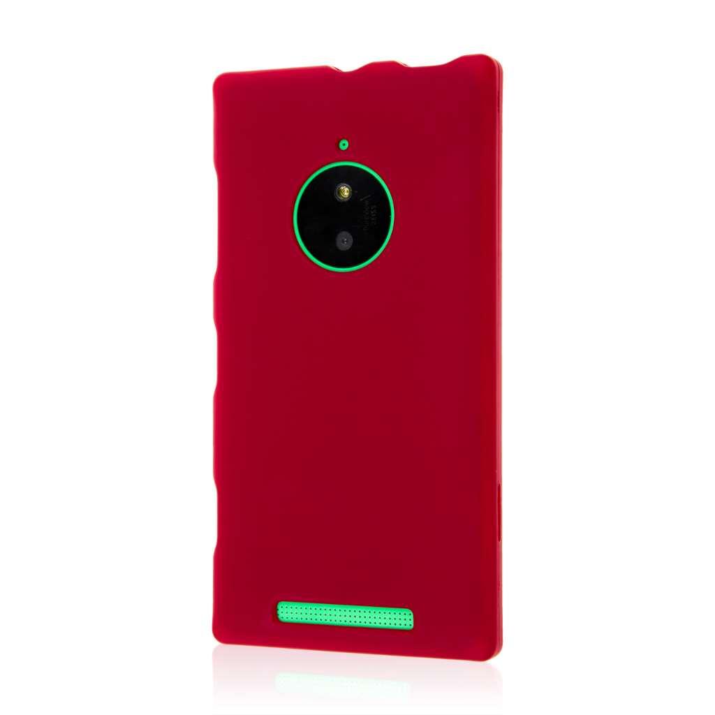 Nokia Lumia 830 - Burgundy MPERO SNAPZ - Case Cover
