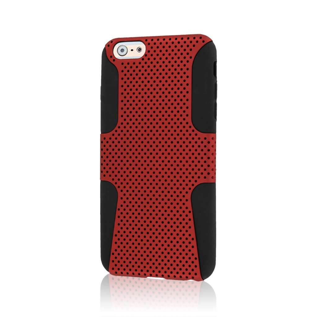 Apple iPhone 6 6S Plus - Red MPERO FUSION M - Protective Case Cover