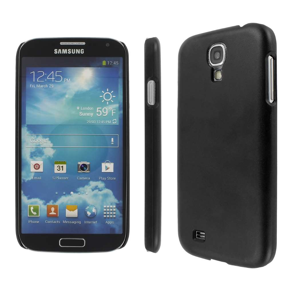 Samsung Galaxy S4 MPERO Slim Fit Hard Case Cover Black Matte