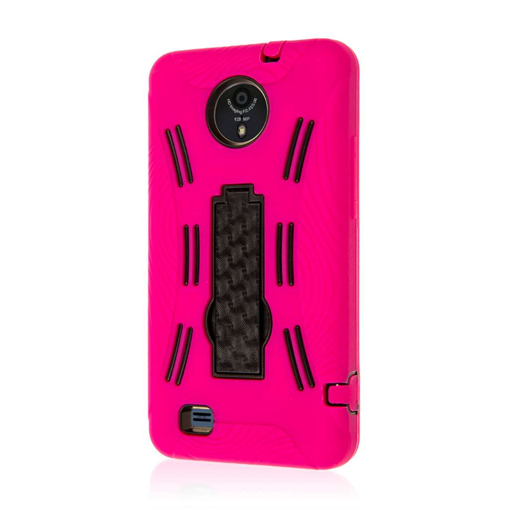 ZTE Vital - Hot Pink MPERO IMPACT XL - Kickstand Case Cover