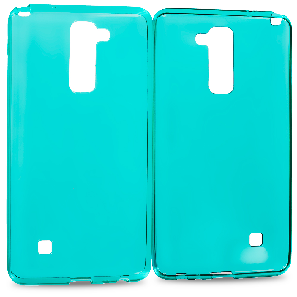 LG G Stylo 2 LS775 Baby Blue TPU Rubber Skin Case Cover