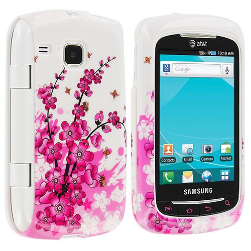 Samsung Doubletime i857 Spring Flowers Design Crystal Hard Case Cover