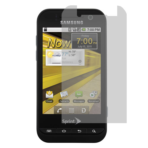 Samsung Conquer 4G D600 Clear LCD Screen Protector