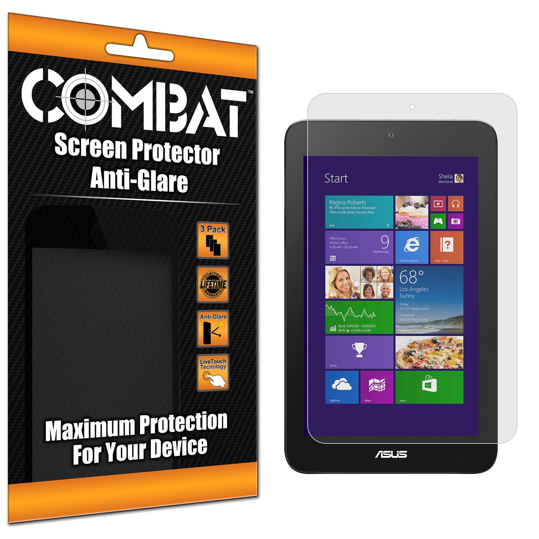 Asus VivoTab Note 8 Combat 3 Pack Anti-Glare Matte Screen Protector