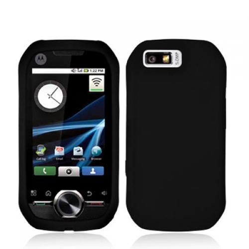 Motorola i1 Black Soft Silicone Case Cover