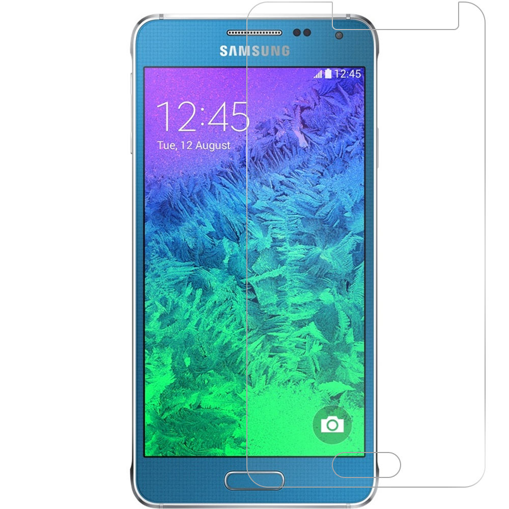Samsung Galaxy Alpha G850 Clear LCD Screen Protector