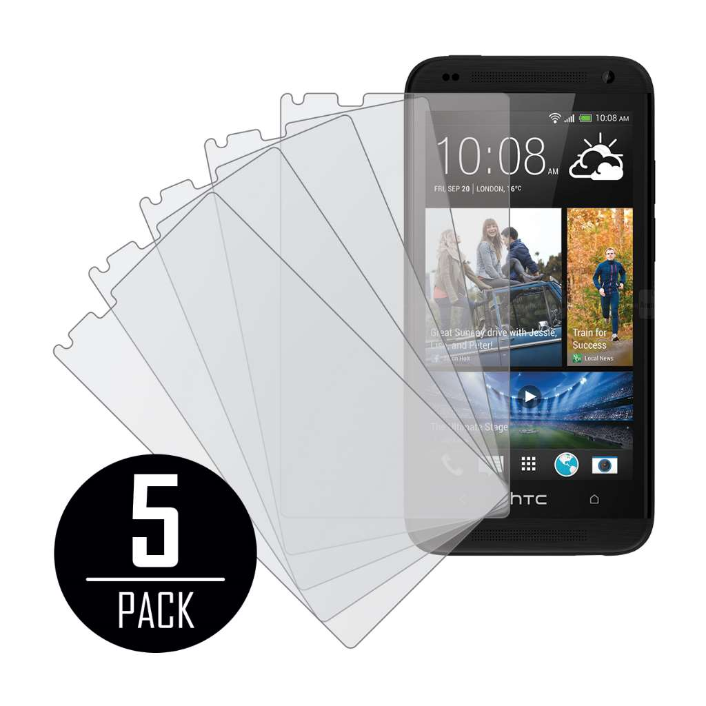 HTC Desire 610 MPERO 5 Pack of Matte Screen Protectors