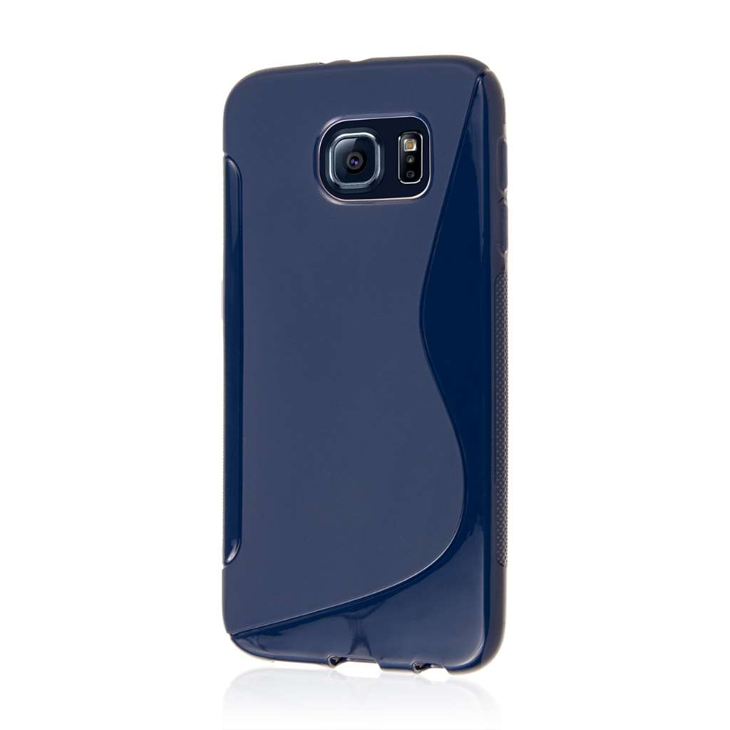 Samsung Galaxy S6 - Navy Blue MPERO FLEX S - Protective Case Cover