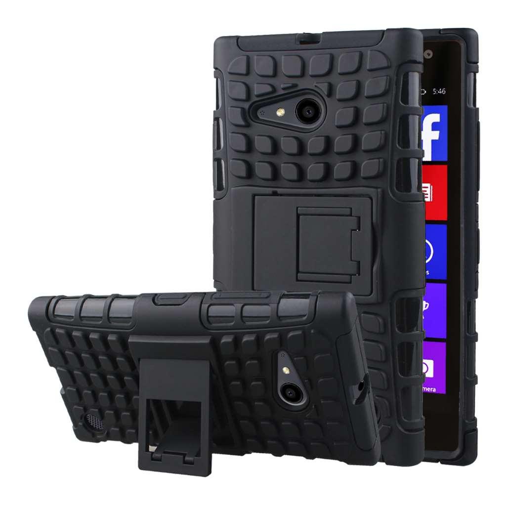 Nokia Lumia 735 - Black MPERO IMPACT SR - Kickstand Case Cover