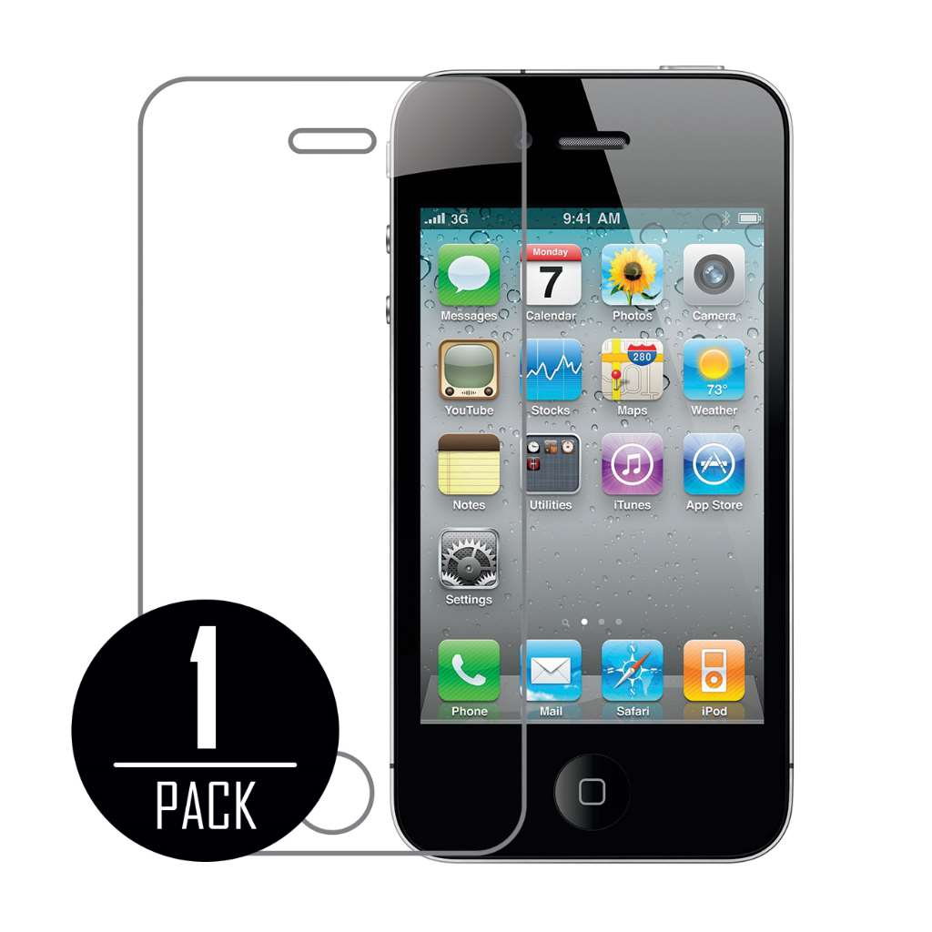 Apple iPhone 4 / 4S MPERO Tempered Glass Screen Protector