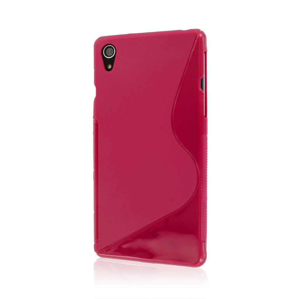 Sony Xperia Z2 - Hot Pink MPERO FLEX S - Protective Case Cover