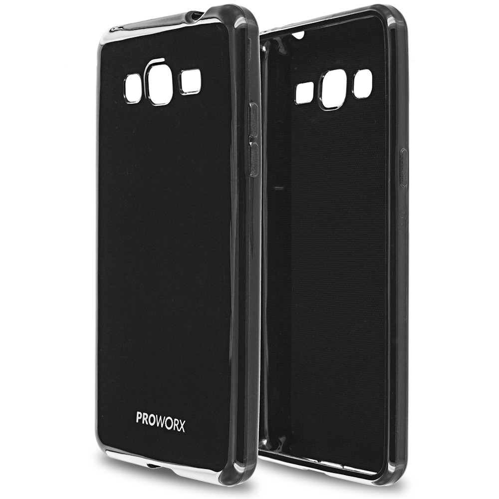 Samsung Galaxy Grand Prime LTE G530 Black ProWorx Ultra Slim Thin Scratch Resistant TPU Silicone Case Cover