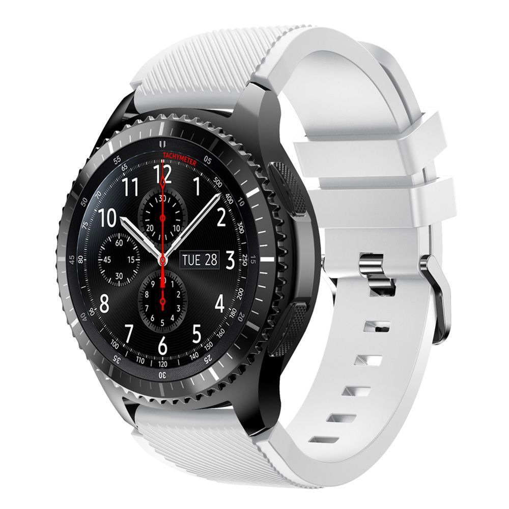 silicone bracelet watch replacement for samsung gear s3 frontier classic band ebay