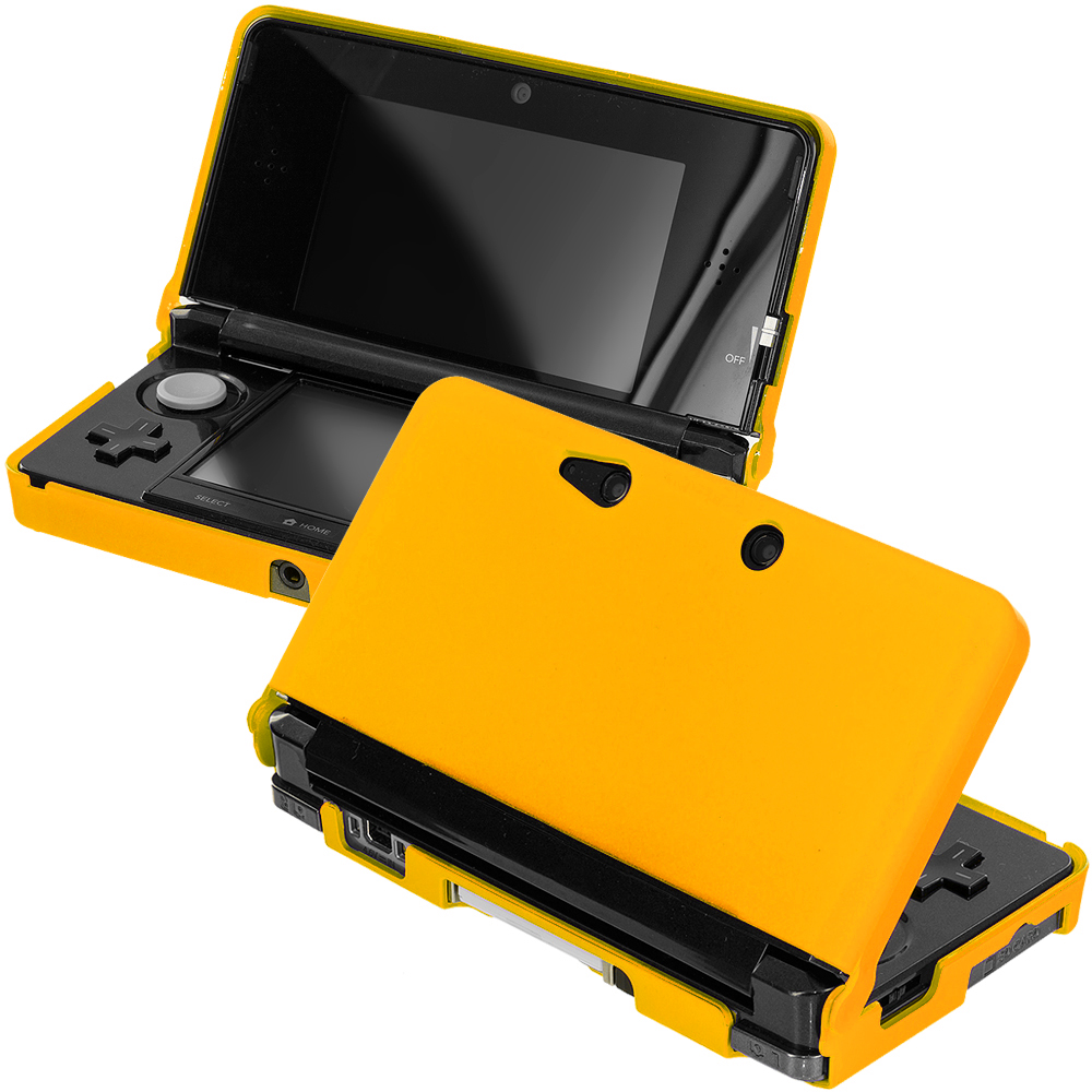 Nintendo 3DS Yellow Hard Rubberized Case Cover