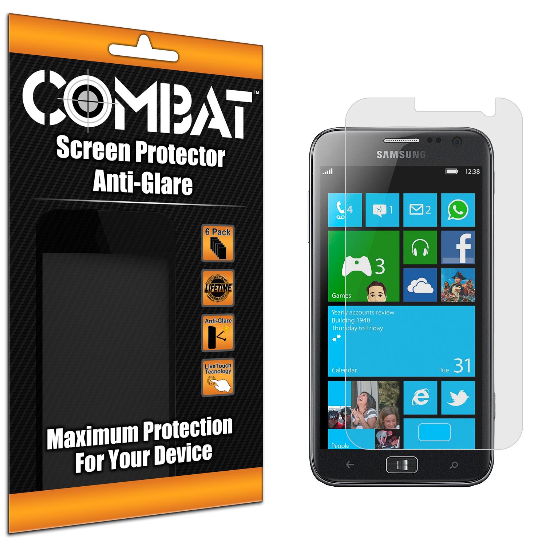Samsung ATIV SE Combat 6 Pack Anti-Glare Matte Screen Protector