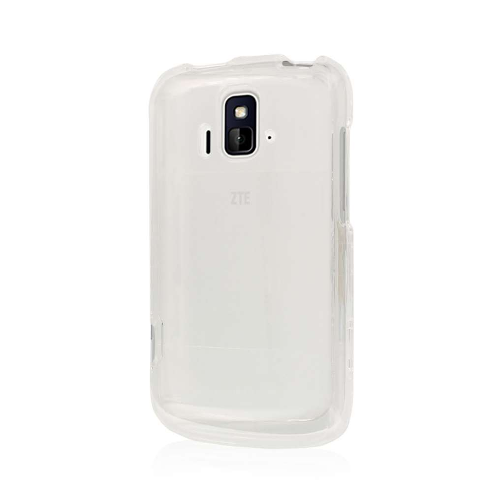 ZTE Radiant / Sonata 4G - Clear MPERO SNAPZ - Glossy Case Cover