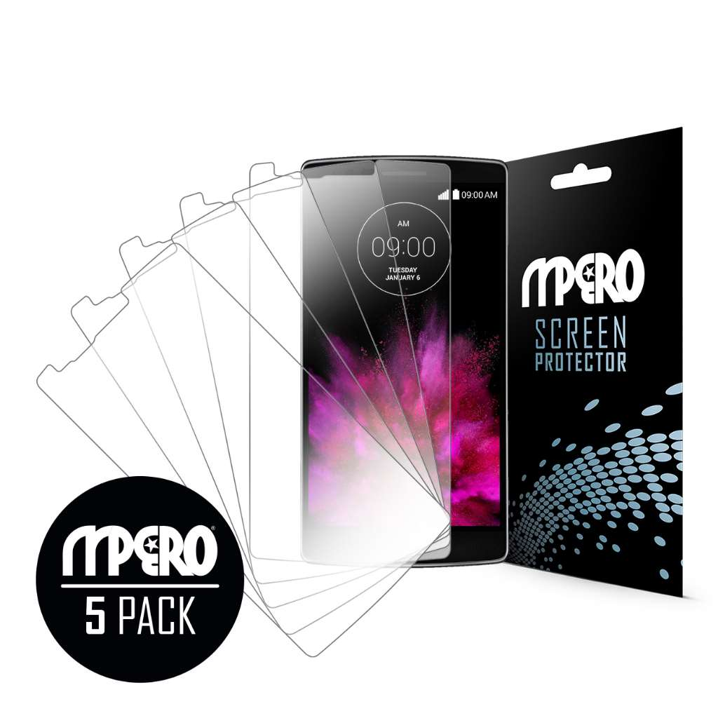 LG G Flex 2 MPERO 5 Pack of Ultra Clear Screen Protectors