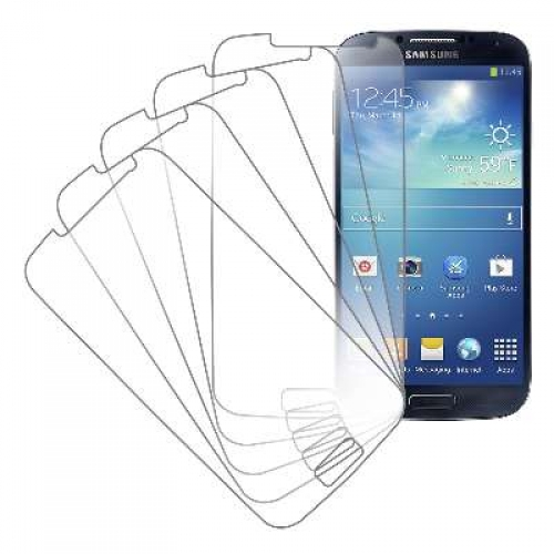 Samsung Galaxy S4 MPERO 5 Pack of Clear Screen Protectors