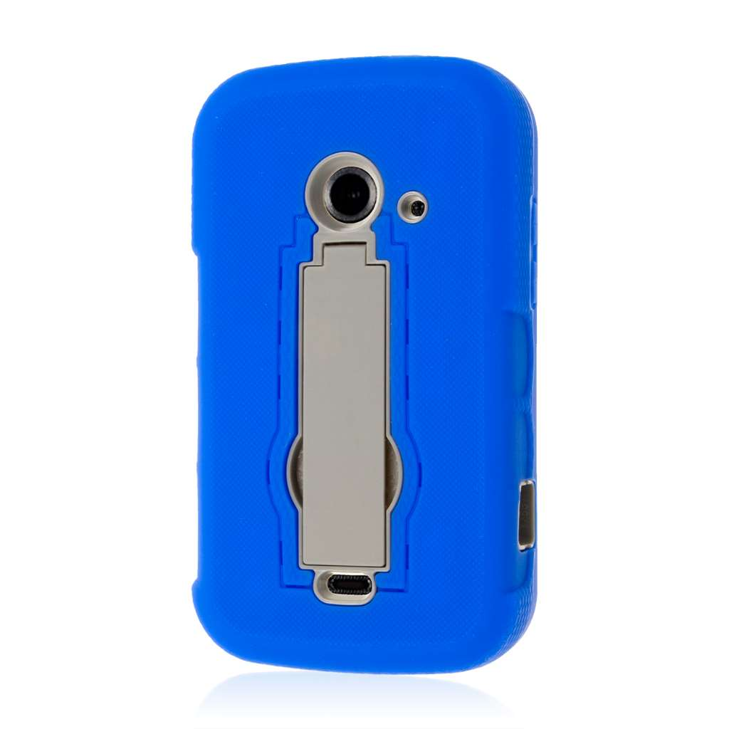 ZTE Prelude 2 - Blue MPERO IMPACT XS - Kickstand Case Cover