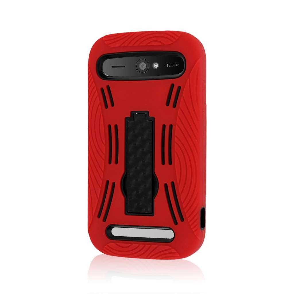 ZTE Grand S Pro - Red MPERO IMPACT XL - Kickstand Case Cover