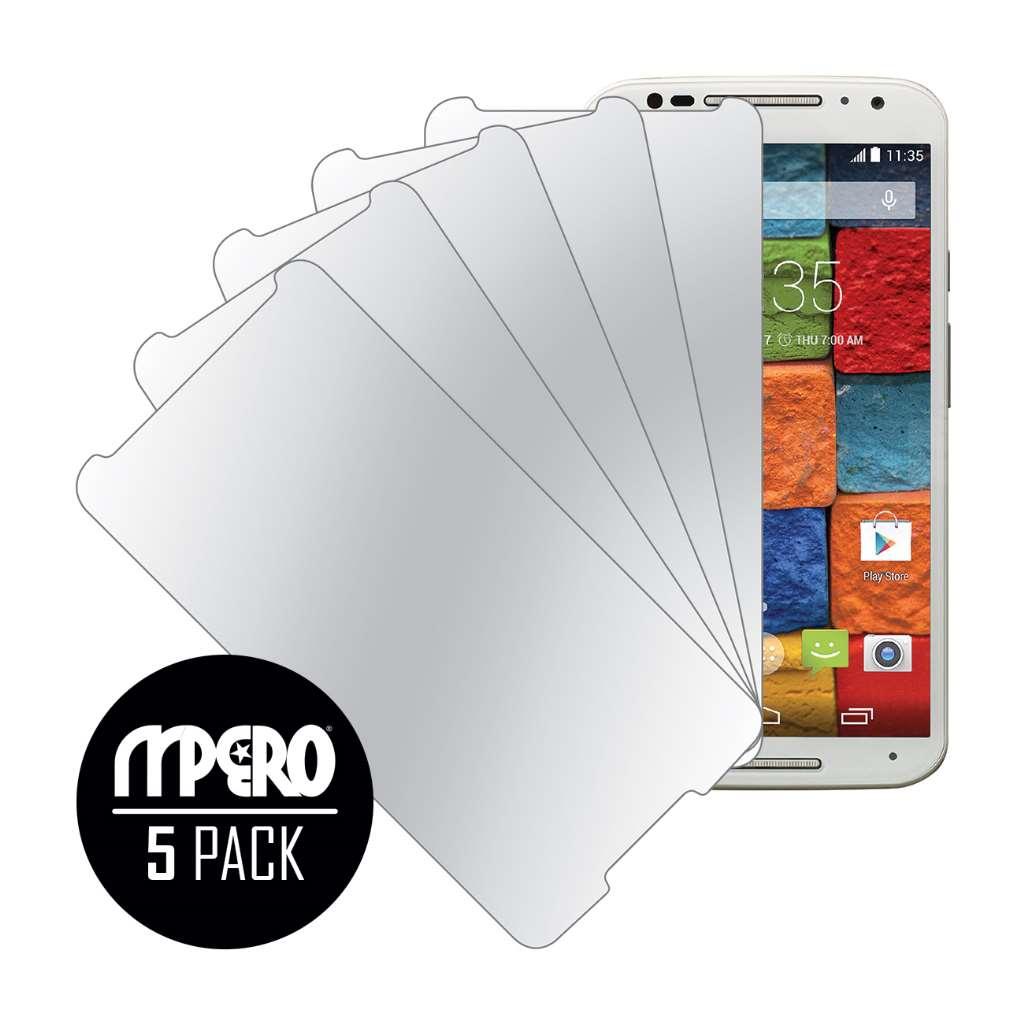 Motorola Moto X 2014 2nd Gen MPERO 5 Pack of Mirror Screen Protectors