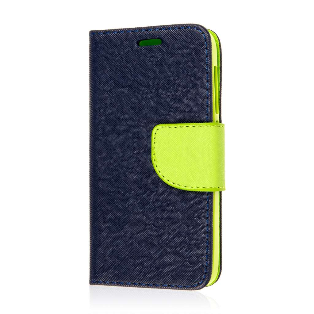 Alcatel OneTouch Pop Astro - Blue MPERO FLEX FLIP 2 Wallet Stand Case Cover