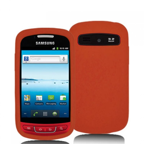 Samsung Admire R720 Orange Silicone Soft Skin Case Cover