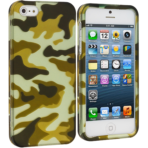 Apple iPhone 5/5S/SE Meisai Hard Rubberized Design Case Cover