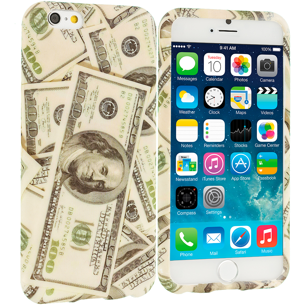 Apple iPhone 6 6S (4.7) Money TPU Design Soft Case Cover