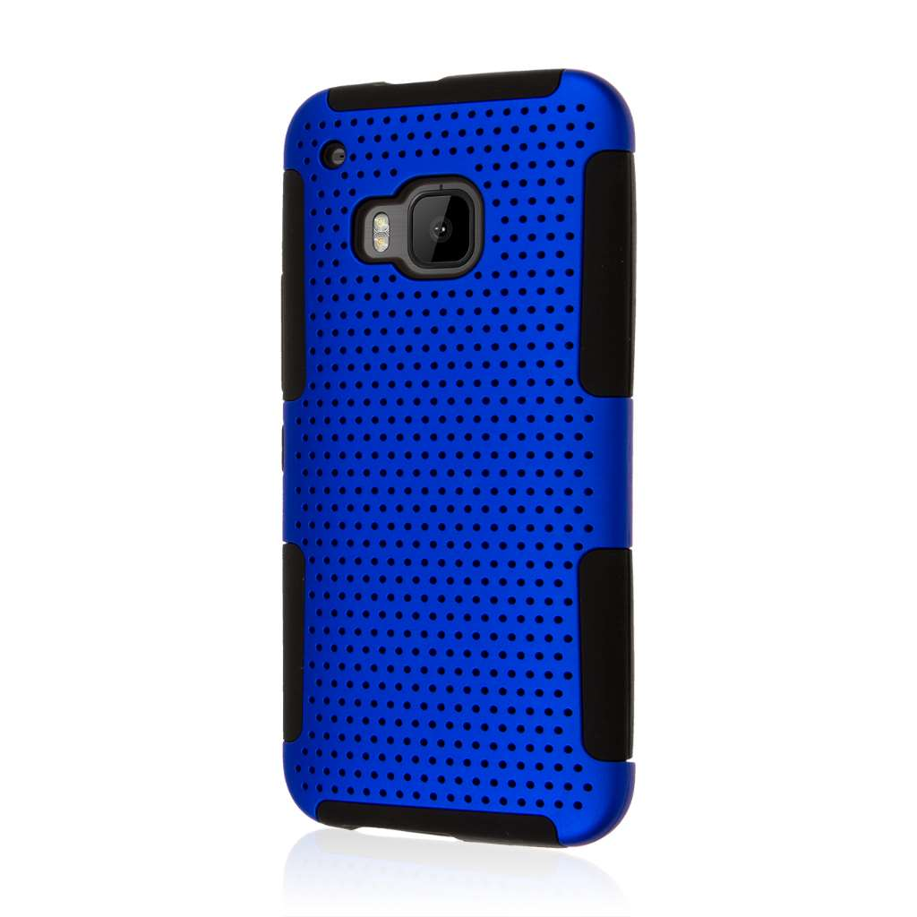 HTC One M9 - Blue MPERO FUSION M - Protective Case Cover