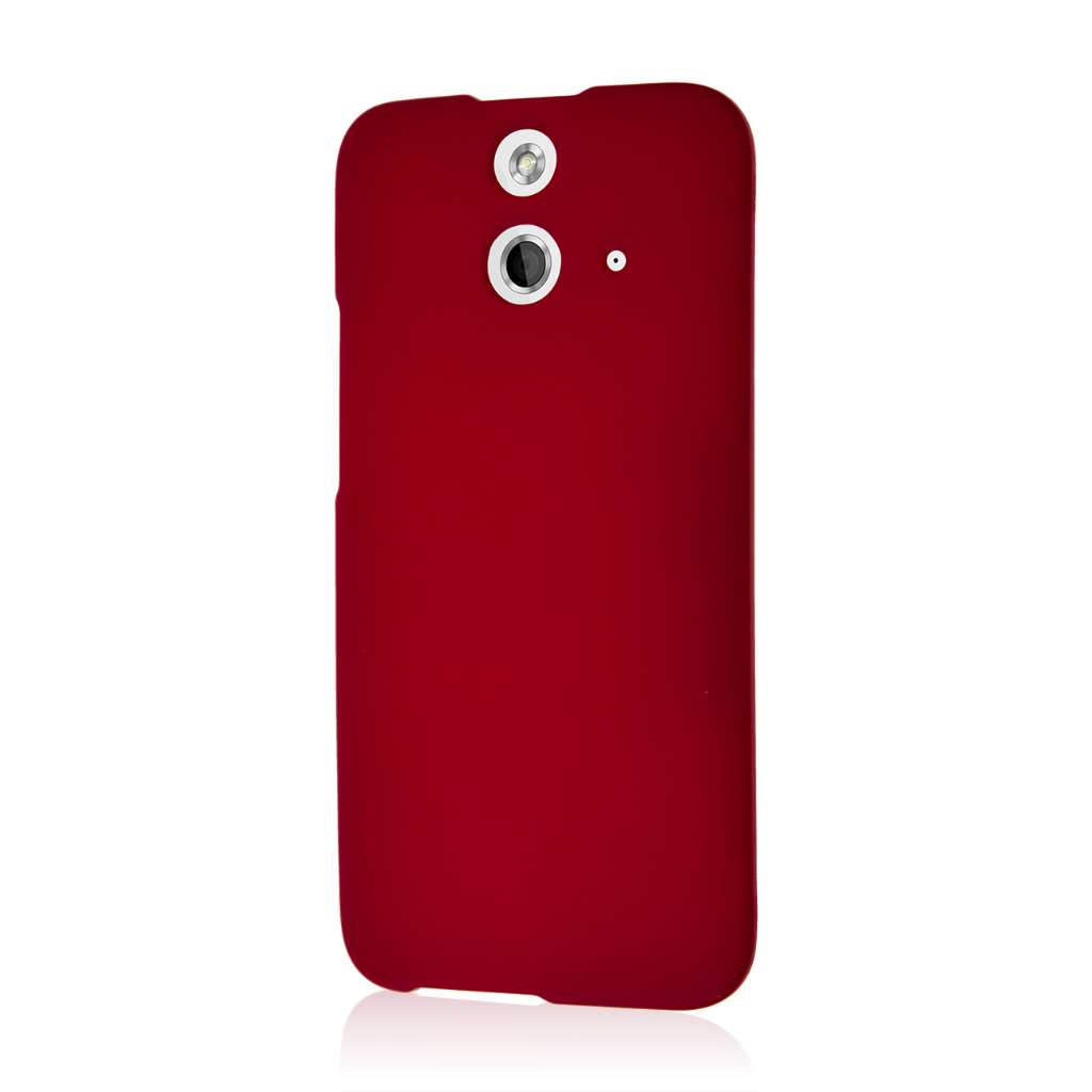 HTC One E8 - Burgundy MPERO SNAPZ - Case Cover
