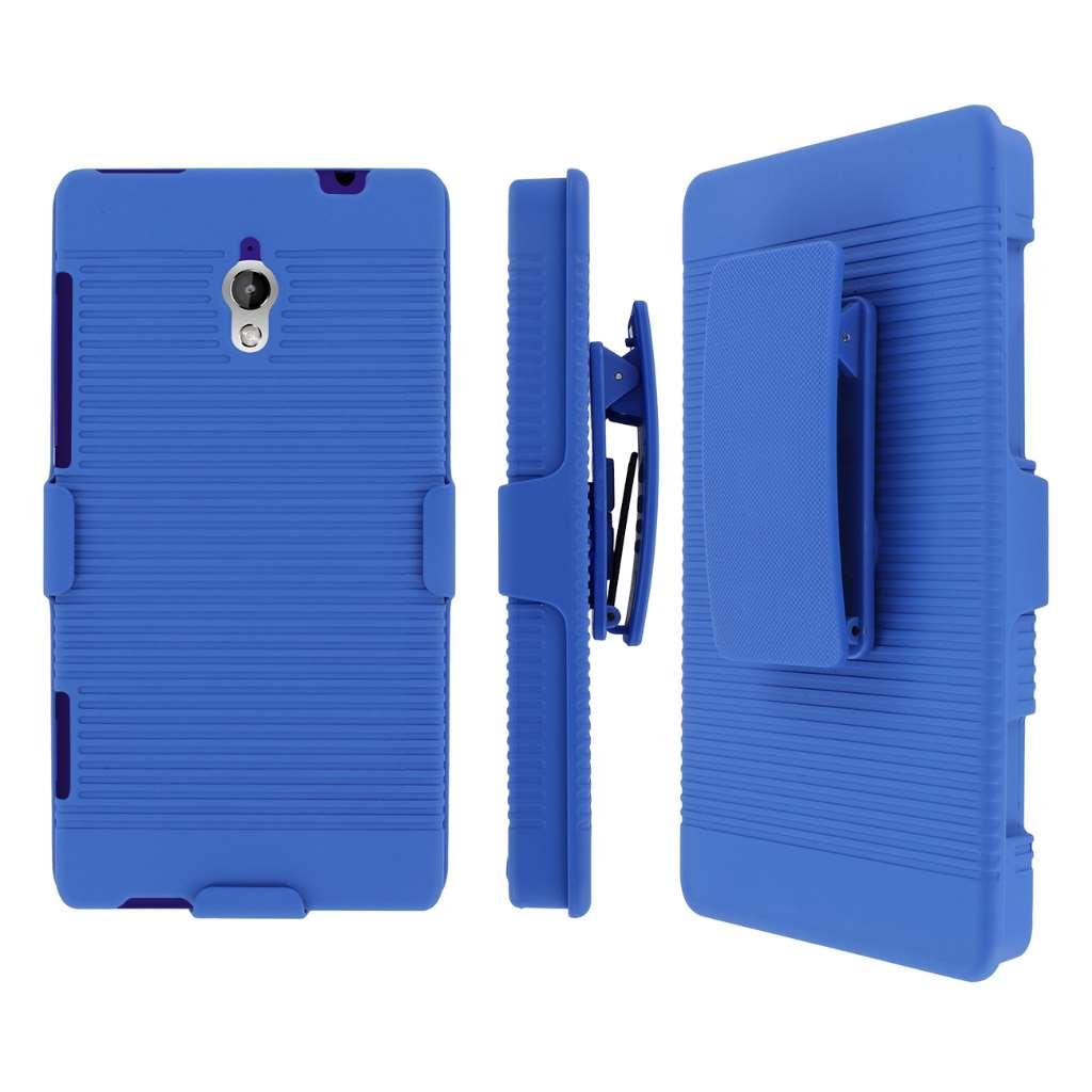 HTC 8XT MPERO 3 in 1 Tough Kickstand Case Cover