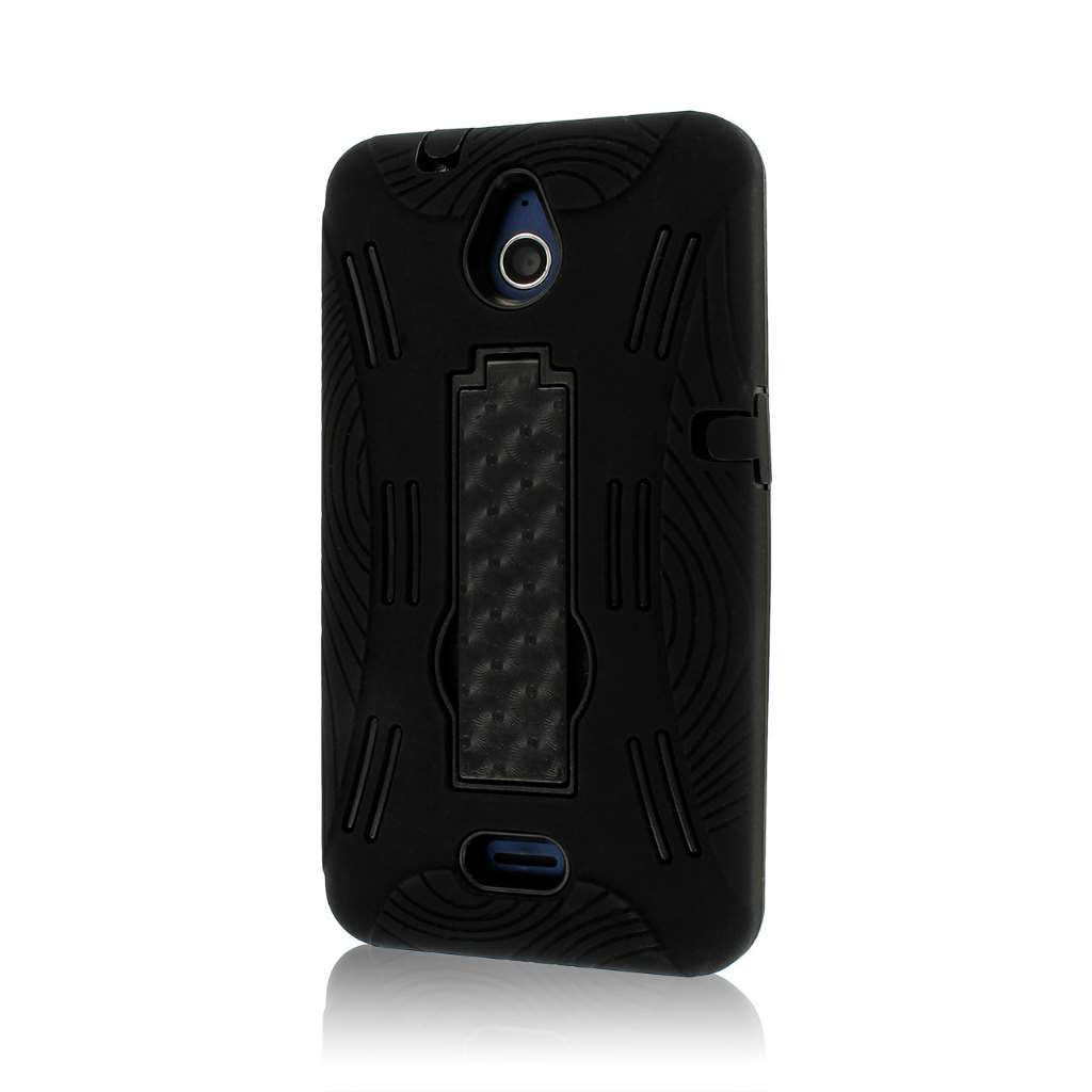 Huawei Valiant - Black MPERO IMPACT XL - Kickstand Case Cover