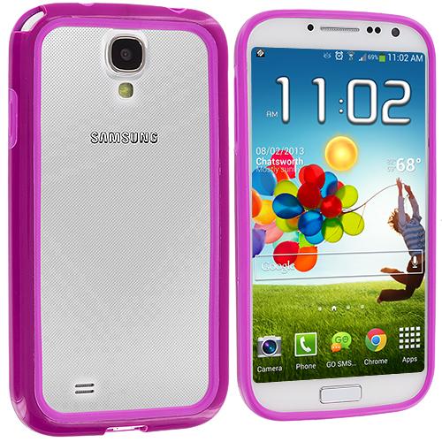 Samsung Galaxy S4 Purple / Purple TPU Bumper