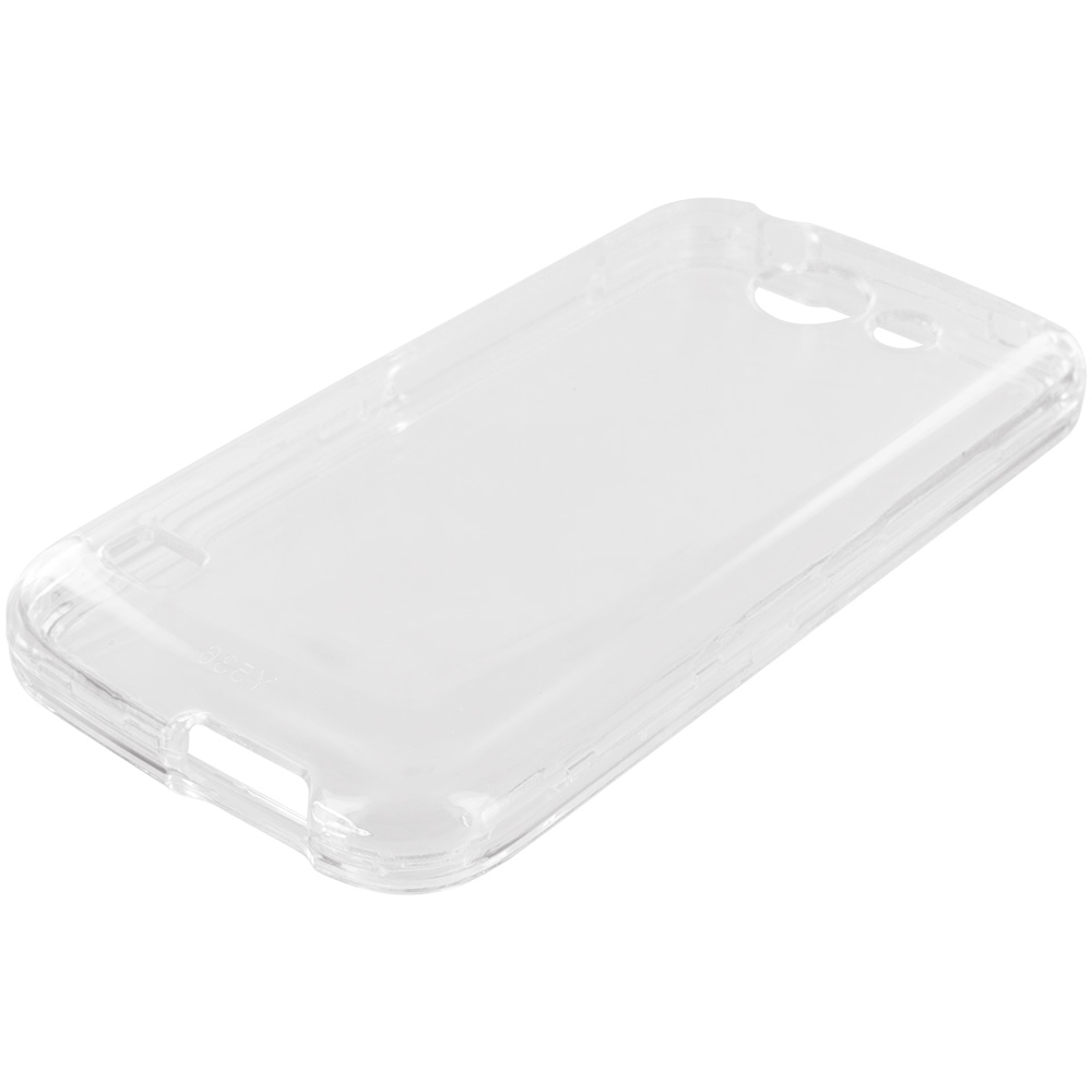 Huawei Tribute Fusion 3 Y536A1 Clear Crystal Transparent Hard Case Cover