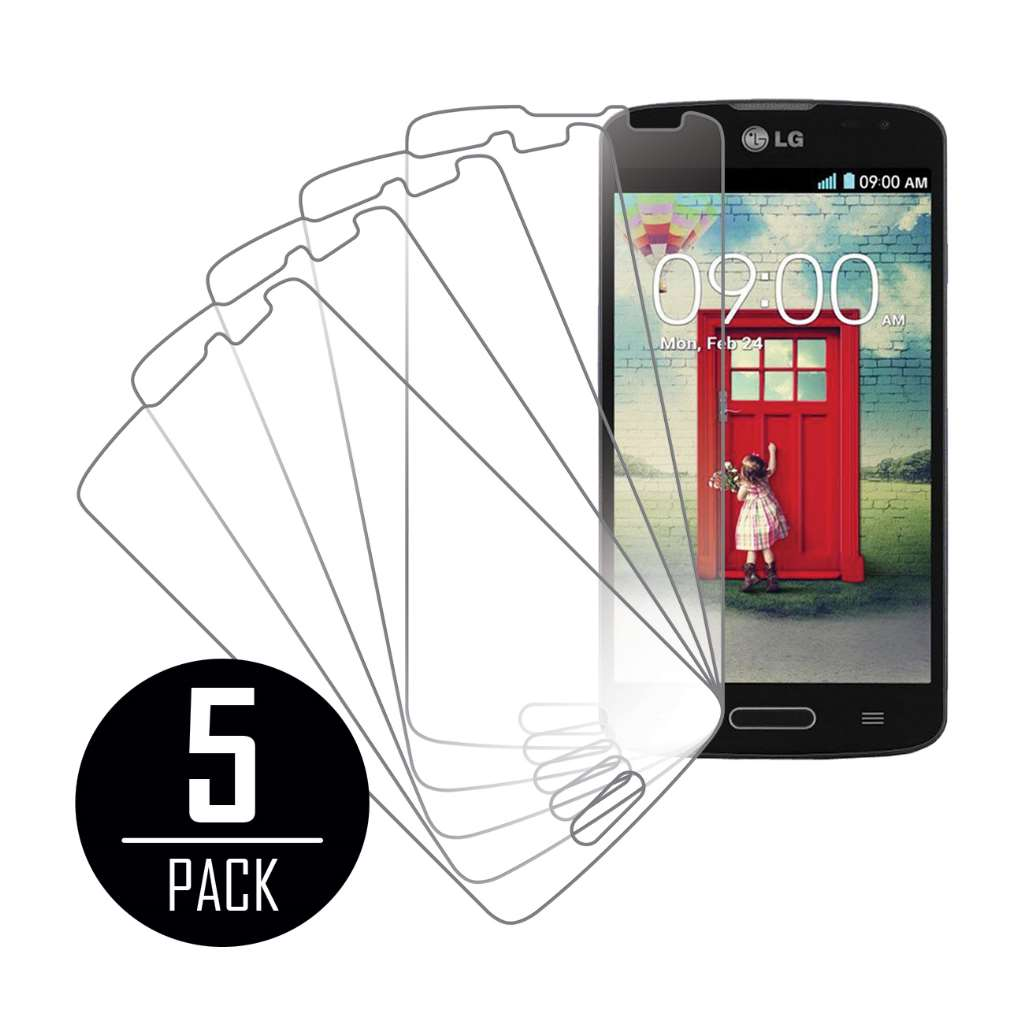LG Volt MPERO 5 Pack of Clear Screen Protector Film Guard
