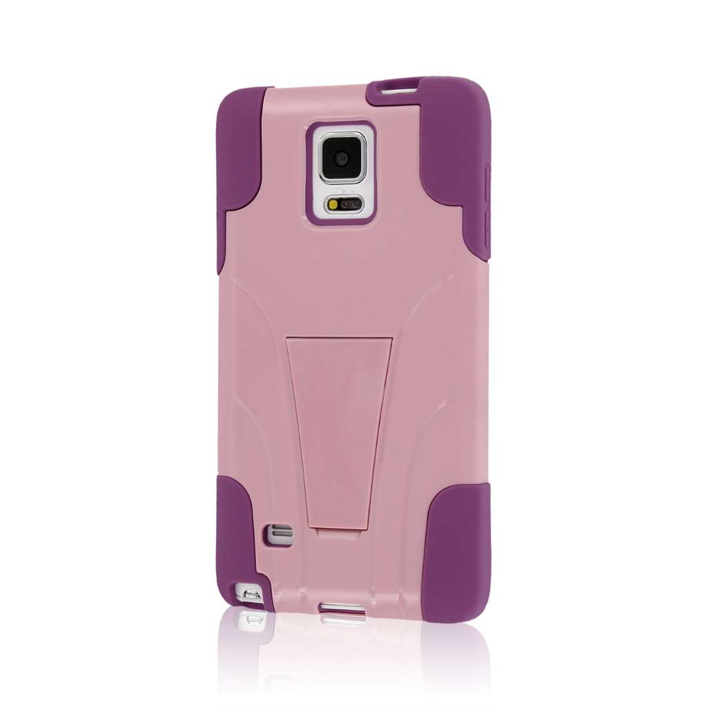 Samsung Galaxy Note 4 - Pink MPERO IMPACT X - Kickstand Case Cover
