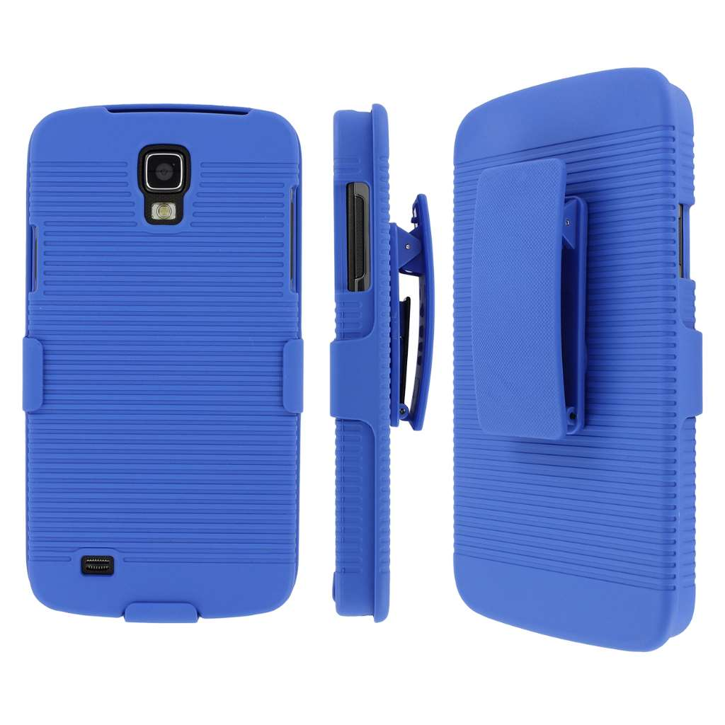Samsung Galaxy S4 Active MPERO 3 in 1 Tough Kickstand Case Cover