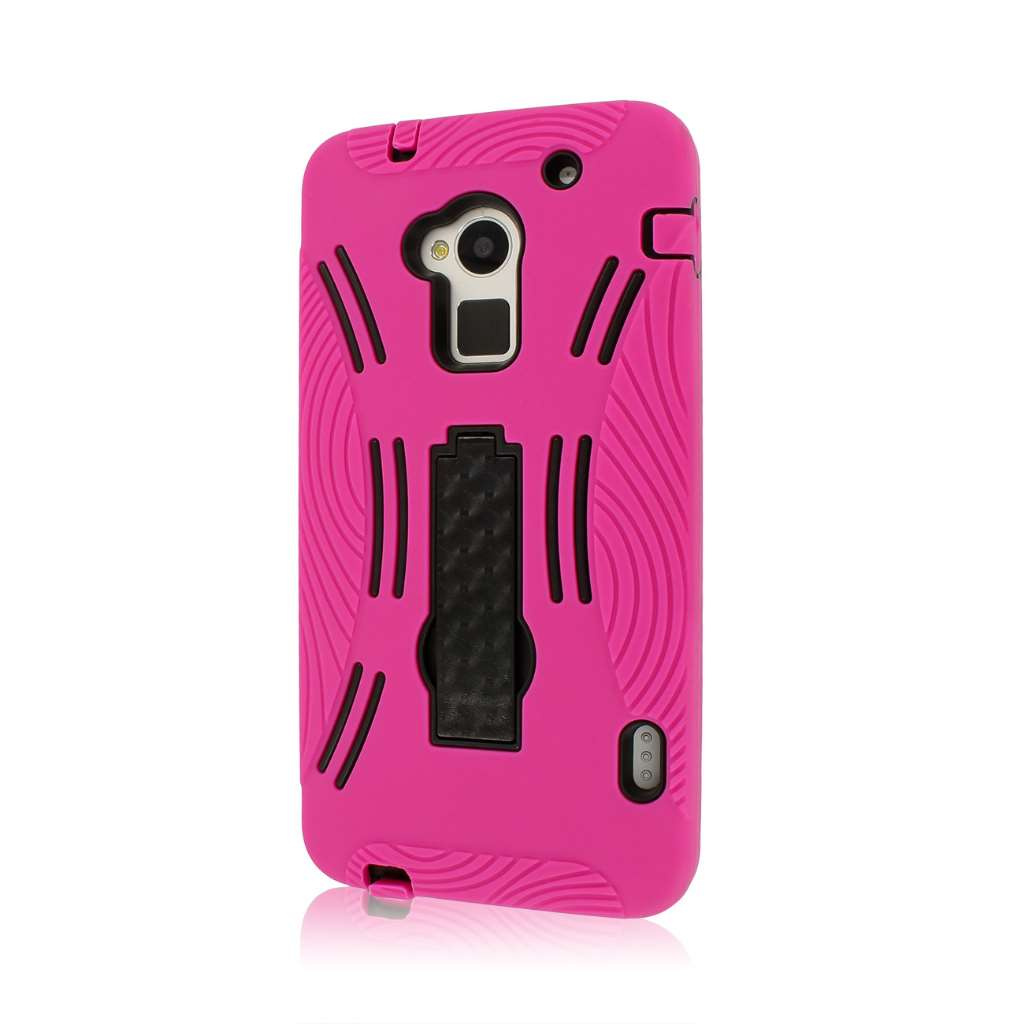 HTC One Max T6 - HOT PINK MPERO IMPACT XL - Kickstand Case Cover