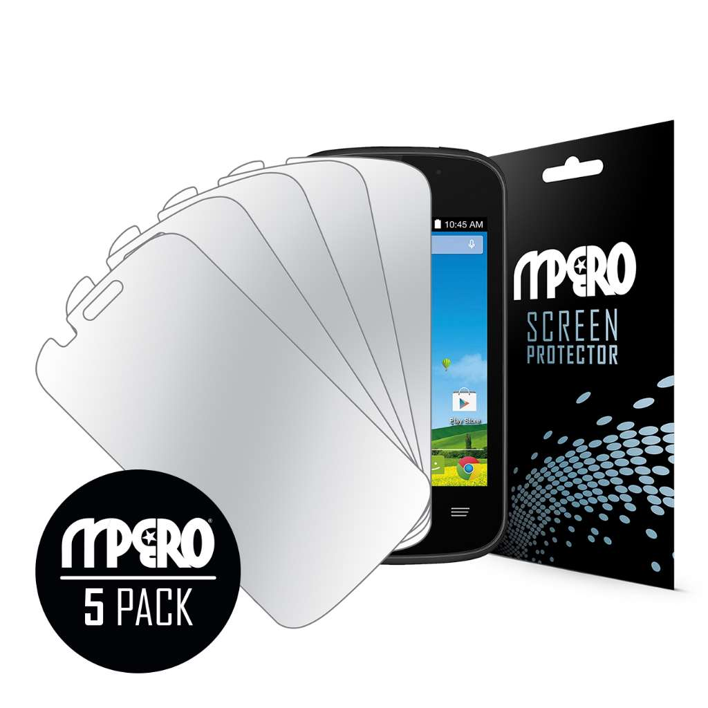 ZTE Zinger MPERO 5 Pack of Mirror Screen Protectors
