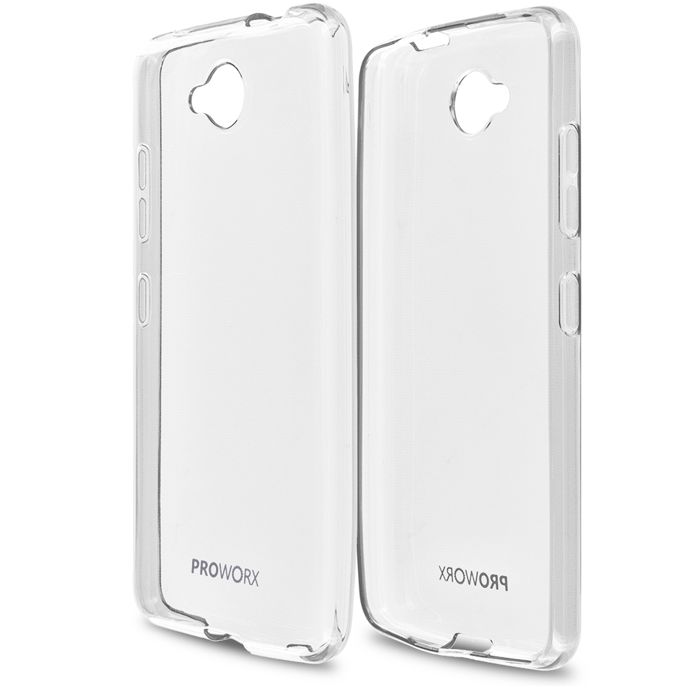 Microsoft Lumia 650 Clear ProWorx Ultra Slim Thin Scratch Resistant TPU Silicone Case Cover