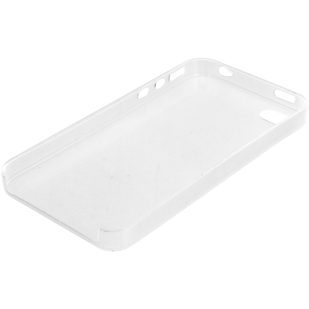 Apple iPhone 4 Clear 0.3mm Crystal Hard Back Cover Case