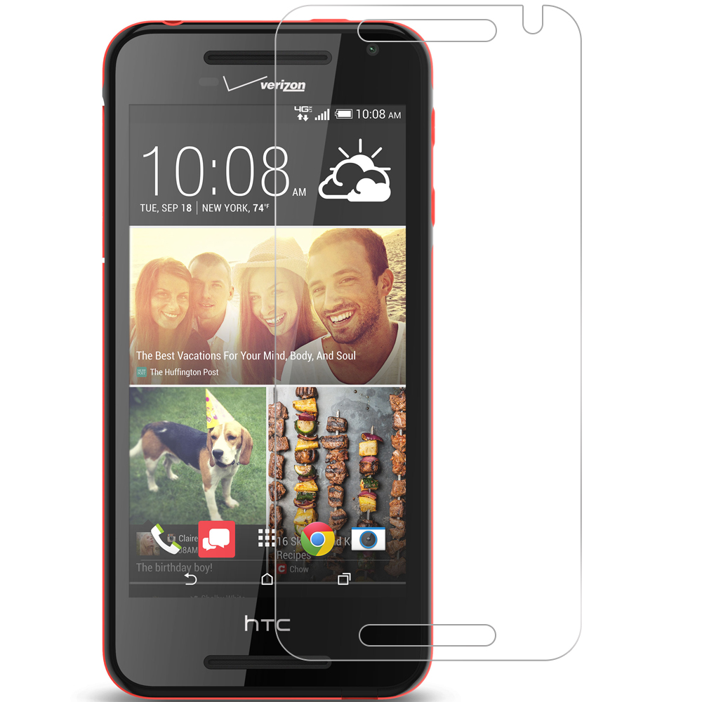 HTC Desire 612 Clear LCD Screen Protector