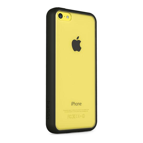 iPhone 5C - Clear/Blacktop Belkin View Case