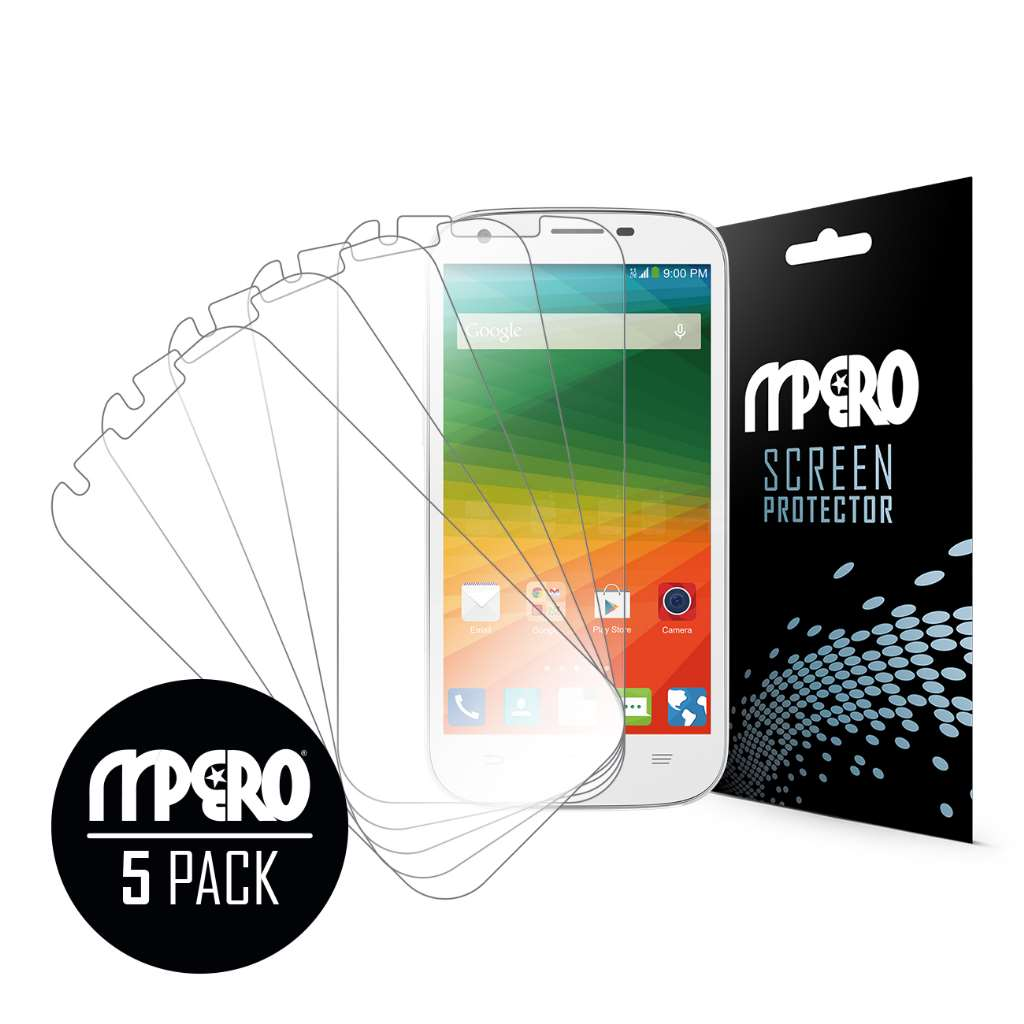 ZTE Imperial II MPERO 5 Pack of Ultra Clear Screen Protectors
