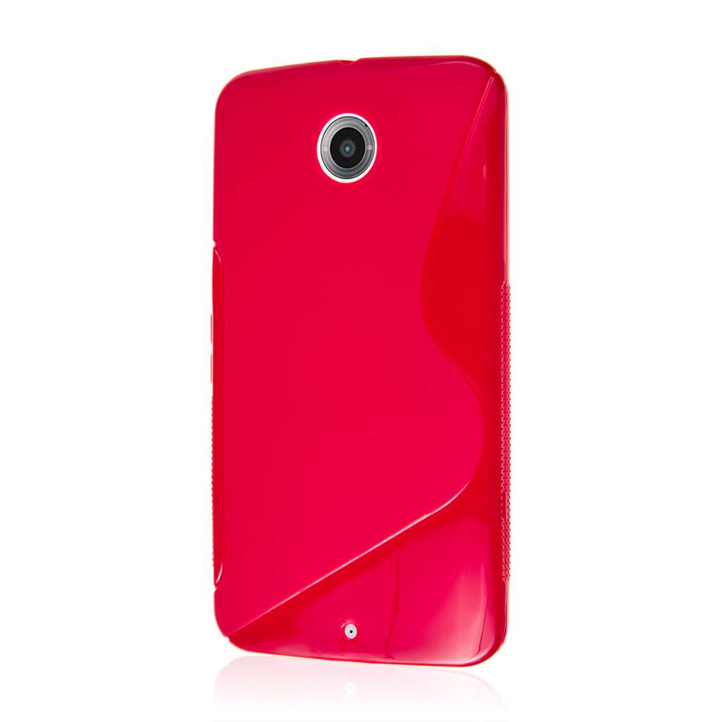 Google Nexus 6 - Hot Pink MPERO FLEX S - Protective Case Cover