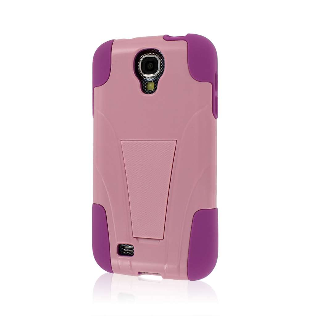 Samsung Galaxy S4 - Pink MPERO IMPACT X - Kickstand Case Cover